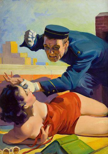 hugh joseph ward. romantic detective. 001