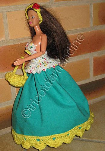 Princesse Ob Crochet Barbie