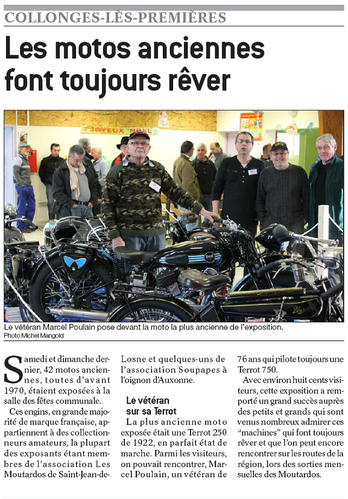 article expo collonges