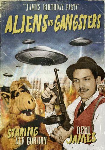 aliens vs gangsters