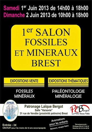 affiche expo brest