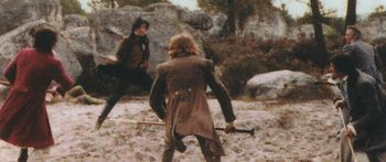 Ardéchois coeur fidèle - combat à la canne et au bâton