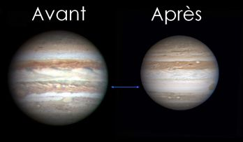 jupiter bande disparue