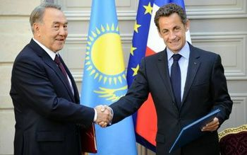 Nazarbayev sarkozy