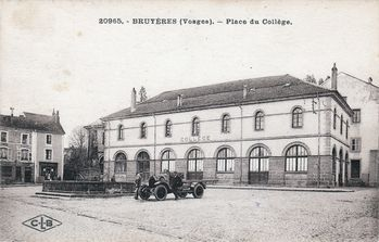 CPA BRUYERES Place du College
