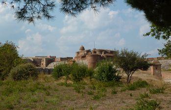 Salses - la forteresse - vue générale