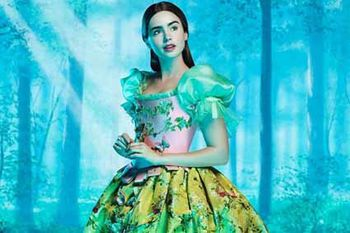 Blanche Neige - Lily Collins