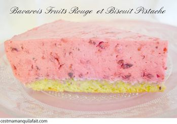 BAVAROIS FRUITS ROUGES (2)