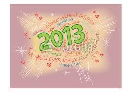 bonnne année 2013