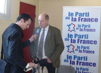 Carl Mayenne conf presse