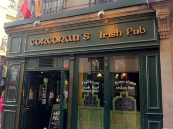 corcoran 39 s irish pub val rie 39 s blog