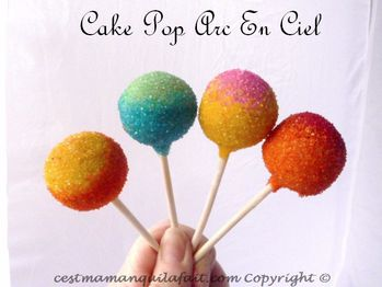 cake pops arc en ciel facile rainbow cake pops (11)