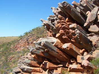 0141.Organ Pipes - Gawler Ranges