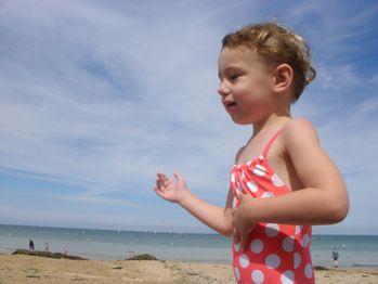 merveille à la plage