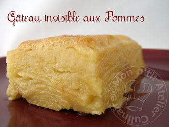 Gateau invisible demarle