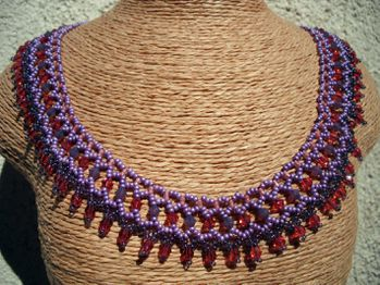 COLLIER NETTING RUSSE MAUVE2