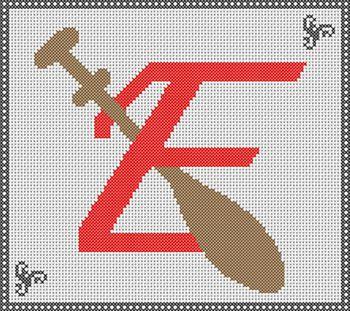 Alphabet fuseau E
