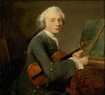 jean-simeon chardin charles-theodose godefroy enfant violon