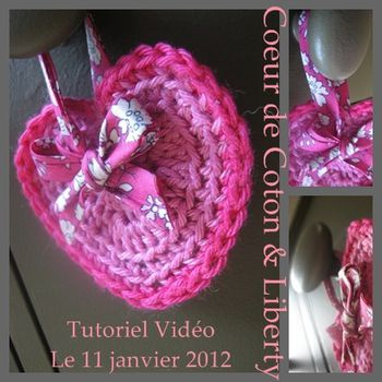 COEUR CROCHET HEART DIY