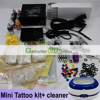 The price of tattoo kits is much cheaper than you buy the things in the kits