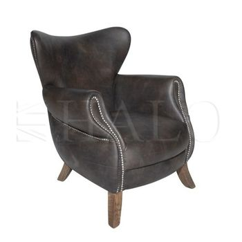 scholar armchair rive gauche home vintage. Black Bedroom Furniture Sets. Home Design Ideas