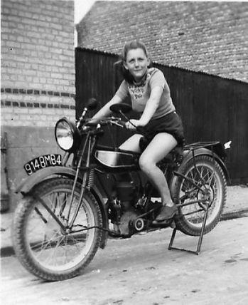 Motobecane pin up662