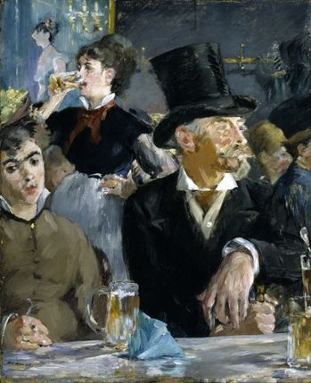 3 Manet 1879 Le Café-Concert The Walters Art Museum Baltim