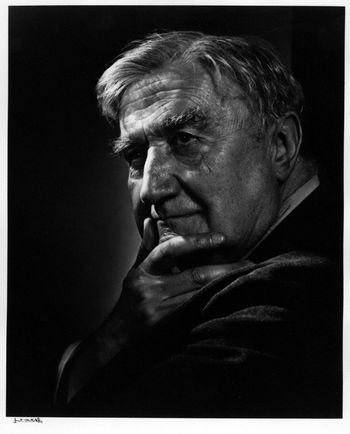 Ralph Vaughan Williams by Yousuf Karsh