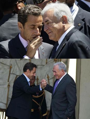 Dominique Strauss-Kahn - Nicolas Sarkozy