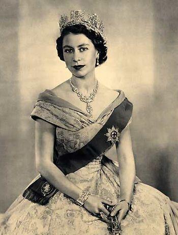 1952 - La Reine Elizabeth II d'Angleterre
