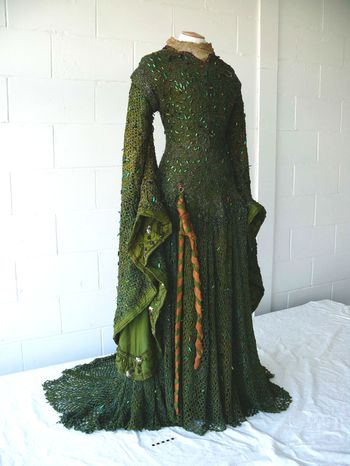La robe d'Ellen Terry en Lady Macbeth