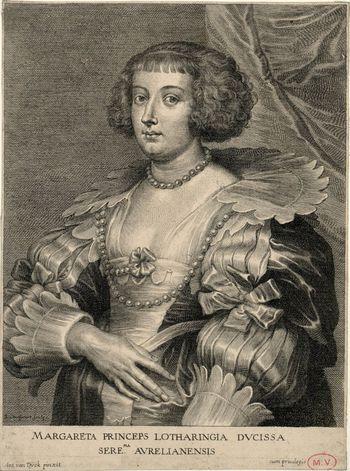 Marguerite de Lorraine van Dyck Schelte Adams Bolswert
