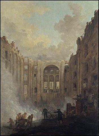 hubert robert incendie opera palais-royal 1781