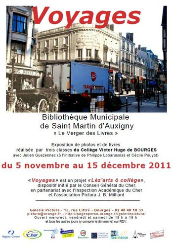 201111 Expo Voyages Galerie Pictura