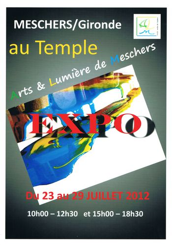 affiche temple meschers 2012