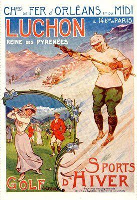 belle époque golf sports hiver