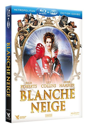 sortie blu ray et dvd blanche neige avec julia roberts. Black Bedroom Furniture Sets. Home Design Ideas