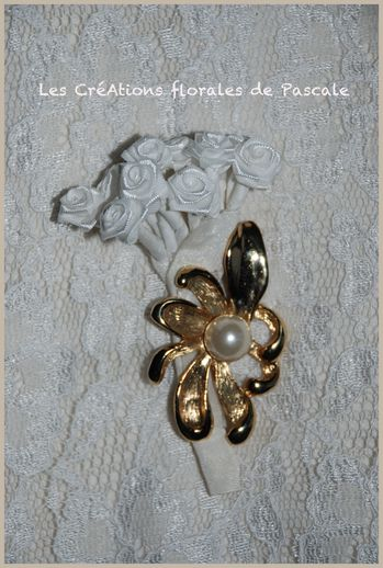 Broche mariage florence