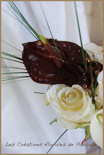 Bouquet de mariée artificiel Sabrina
