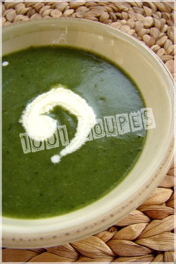 POTAGE EPINARDS