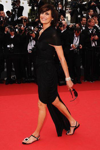 Ines+de+la+Fressange+Opening+Ceremony+64th+Cannes 2011 Carv