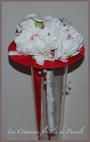 R cr ation florale blog d 39 art floral blog mariage - Bouquet mariee artificiel ...
