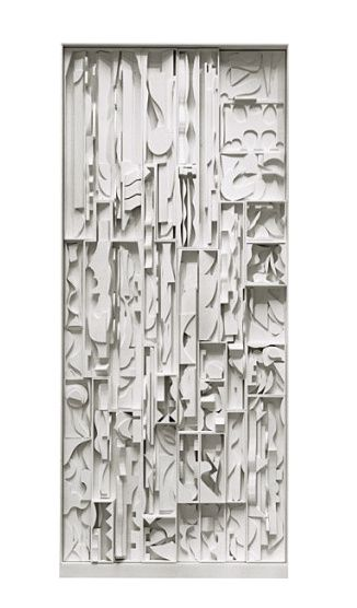 11 1972 Louise Nevelson 1899-1988 White Vertical Water Gug