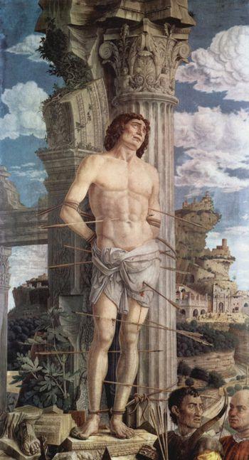 Andrea Mantegna Saint Sébastien Louvre