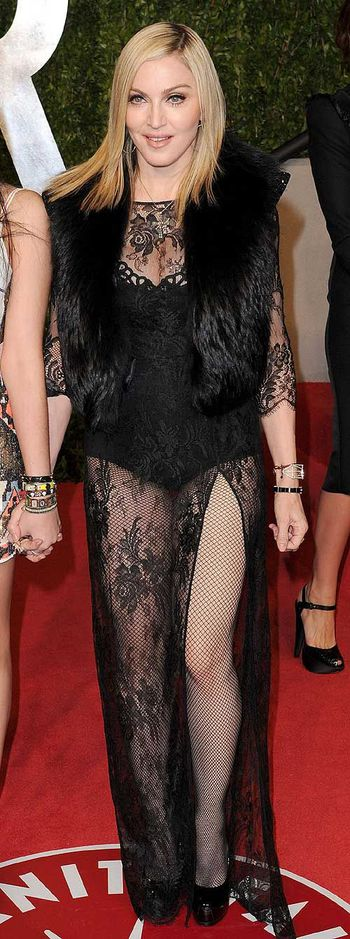 Hit or miss? Vote for Madonna at the 2011 Vanity Fair Oscar Party