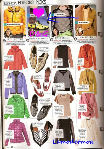 derbies originales dans ELLE Us