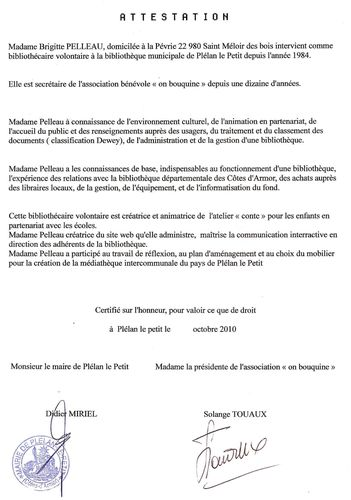 Mediatheque le blog de collectifmoutonnoir - Attestation de porte fort modele lettre ...