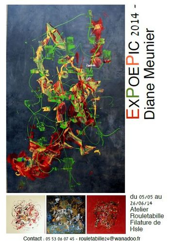 Affiche Expo Rouletabille Mai-Juin 14