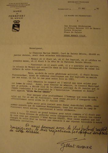 invitation à pierrevert