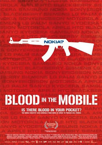 blood in the mobile-poster